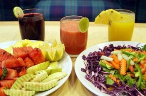veggie and fruit juice